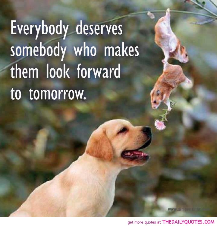 Everyone needs something